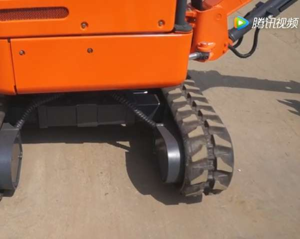 农用小型挖掘机伸缩工作