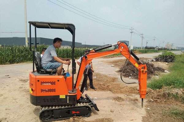 一批新型挖掘机发往黑龙江鸡