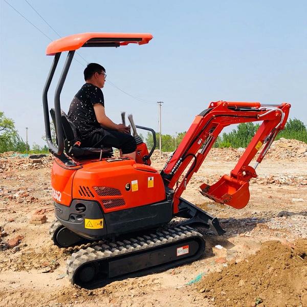国内小型挖掘机发展漫谈