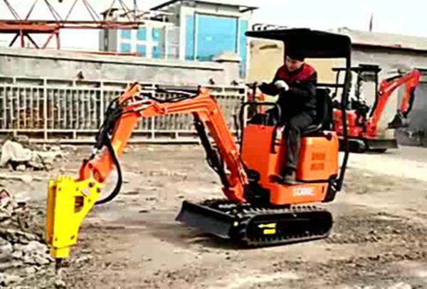 小型挖掘机的单杆操作系统的软件设计