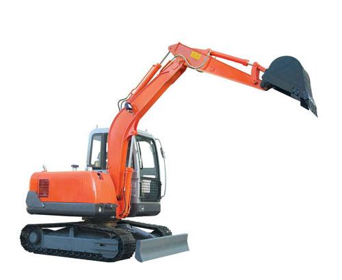 小型挖掘机的软件的主控制模块