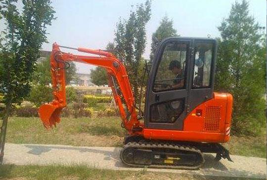 农用挖掘机作业尺寸与工作装置参数的确定