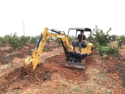 小型挖掘机维修问题的解决